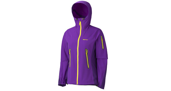 Marmot Vapor Trail - Softshell para mujer - Sudadera violeta